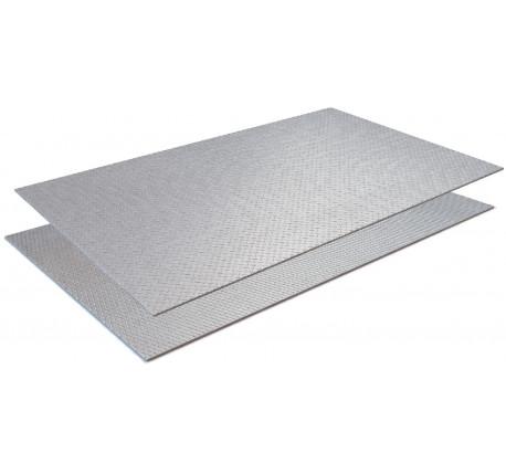 Лист рифленый ромб 10 мм 1500x6000